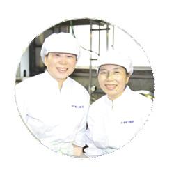 赤貝の佃煮_古賀さん姉妹_顔