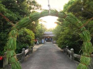 日吉神社 茅の輪くぐり